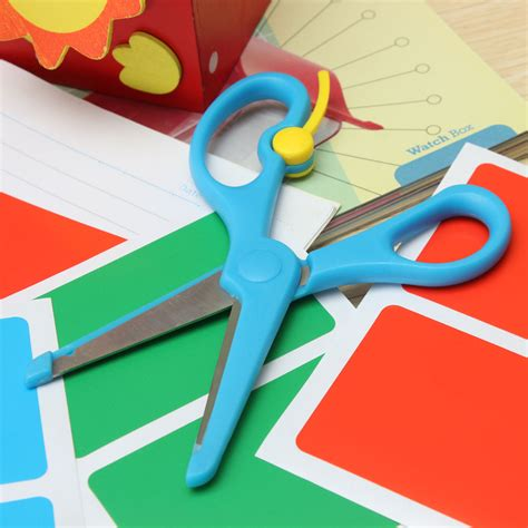 Craft Paper Scissors - 2pcs safety paper cutting scissors diy craft card