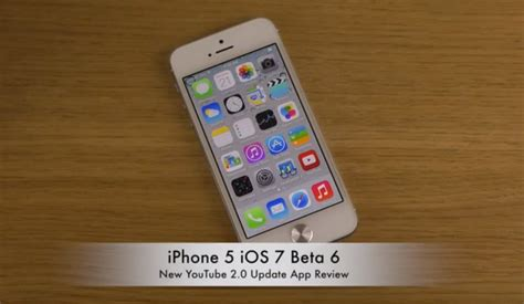 youtube app update  iphone   ios  product reviews net
