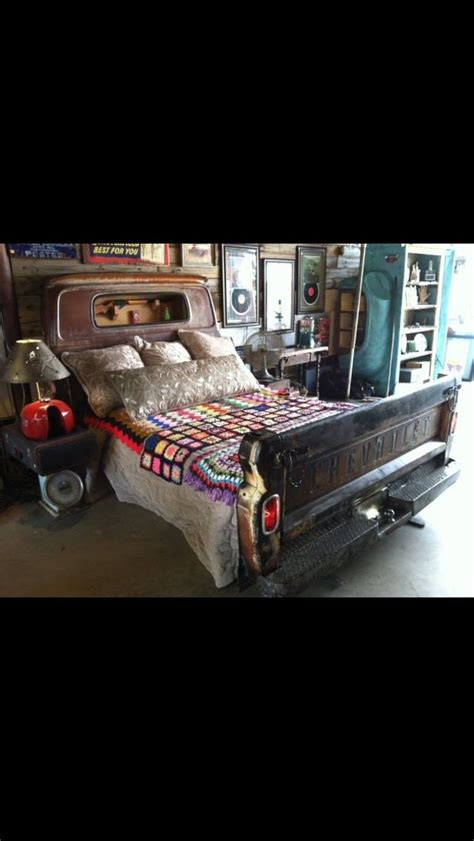 Truck Headboard by 1000 Ideas About Tailgate Headboard On