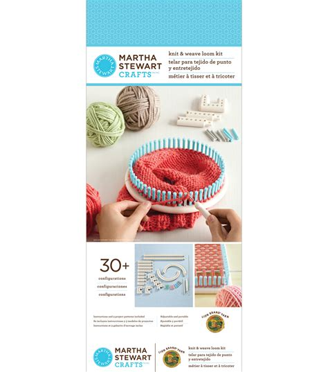 martha stewart knitting loom martha stewart crafts knit and weave loom jo