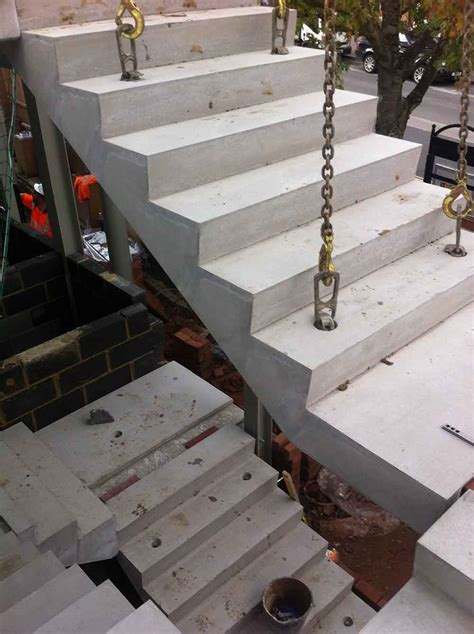 Precast Concrete Stairs Design Concrete Stairs 166 Precast Stair Units 166 Concrete Landing Slab