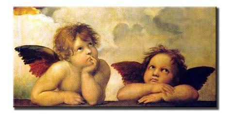 cuadros rafael virgen de la sixtina detalle angeles tienda online de