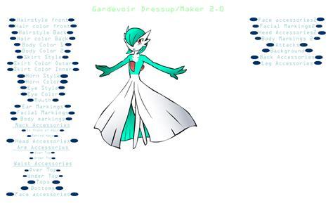 dress up creator gardevoir dressup v 2 by creators paradise on