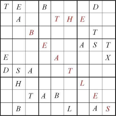 printable letter sudoku puzzles puzzlersparadise the beatles sudoku