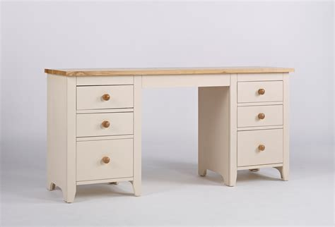 Camden Desk by Camden Painted Pine Ash Dressing Table With Ivory Finish