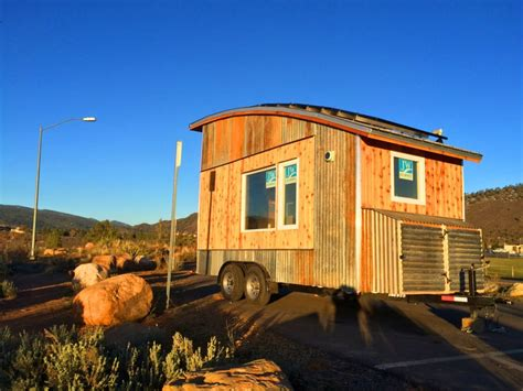 Arched Roof Tiny House By Rocky Mountain Tiny Houses