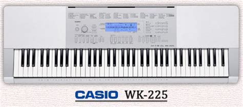 Keyboard Casio Wk 225 2012 portable keyboards roundup explora