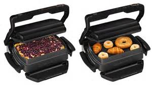 Grill And Toaster Tefal Optigrill Snacking And Baking Ekitchen