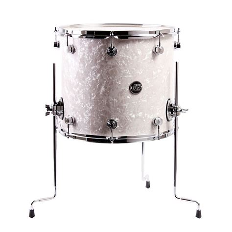 10 X 14 Floor Tom - dw performance series floor tom white marine 14x16