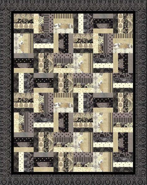 Fence Rail Quilt Pattern by 11 Rail Fence Quilt Patterns A Are Even For Jelly