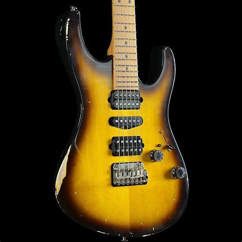 uhr modern suhr modern antique two tone tobacco burst west guitars