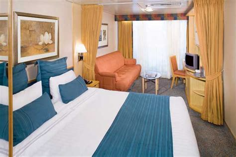 Sofa Twin Bed Vision Of The Seas Cruise Ship Photos Schedule