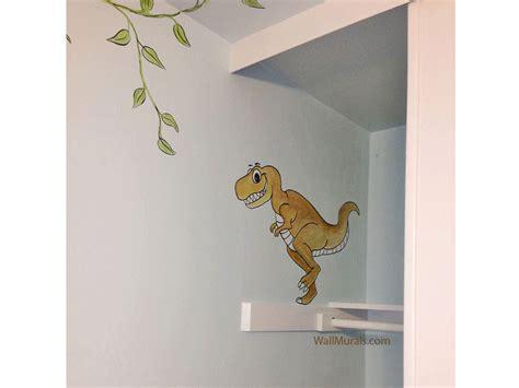 dinosaur wall murals dinosaur wall mural exles photos and