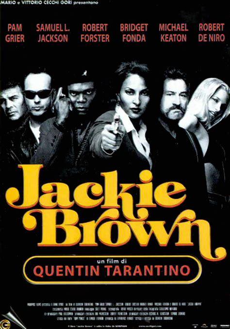 film di quentin tarantino titoli 164 locandina jackie brown