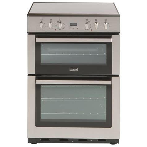 Electric Cooker stoves sec60dop electric cooker stainless steel review