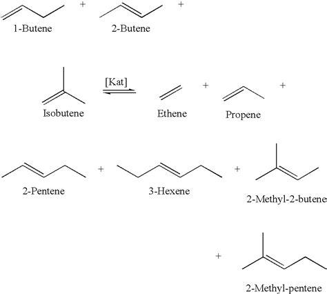 2 pentene hydration us6538168b1 preparation of c5 c6 olefins patents