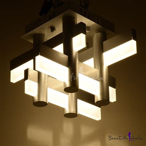 Contemporary Flush Mount Ceiling Light Fixtures Led Bar Modern Mini Cool Lighted Flush Mount Ceiling Light With Lights Decor 4 Reconciliasian