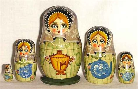 russian crafts russian tea tradition russian traditions