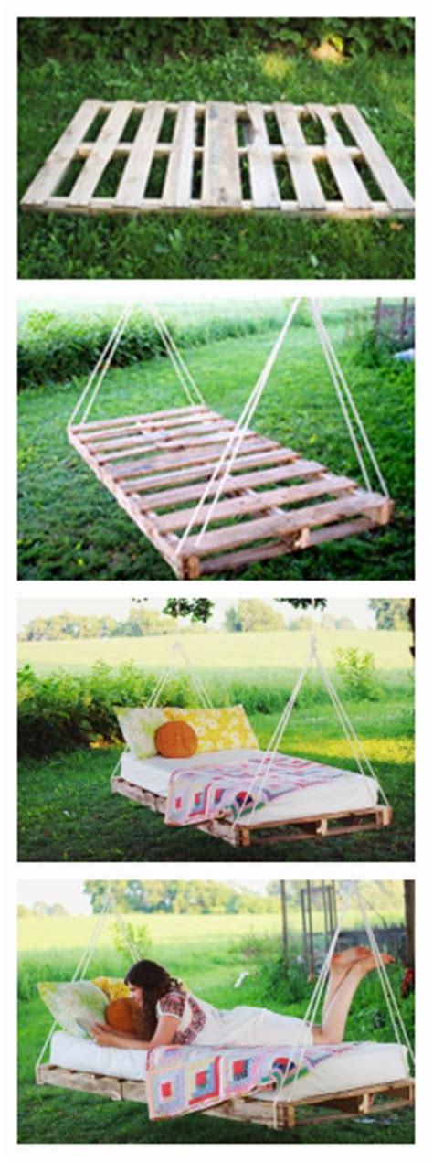 swing lifestyle home page diy pallet swing bed i will have this in my yard someday
