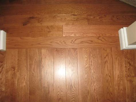 Chagne Floor L hardwood floors borders between rooms floor runs the