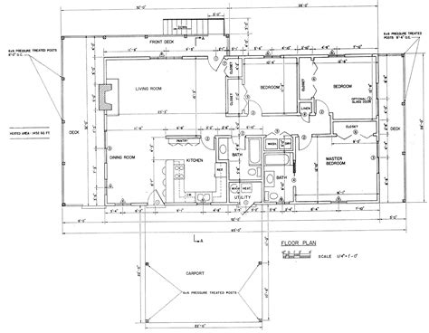 free ranch house plans free 3 bedroom ranch house plan with porch for sloped lot