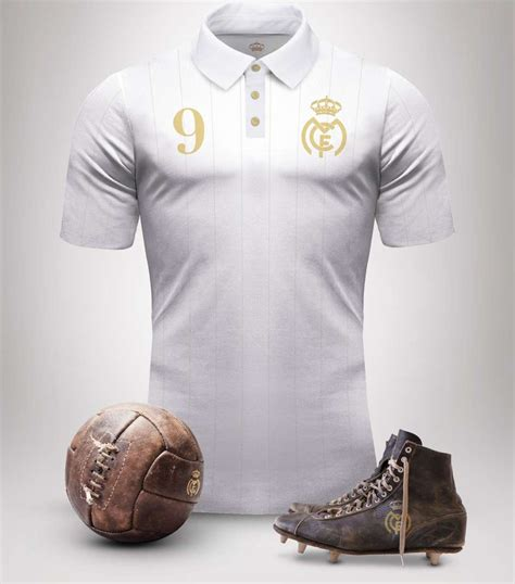 Jersey Retro Madrid By Maniakbola real madrid vintage kits goal