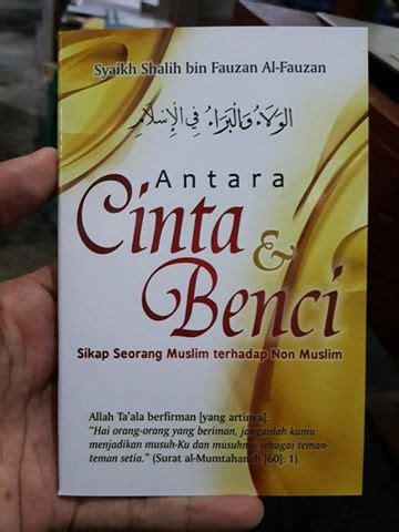 Buku Saku Jujur Awal Kebahagian Dusta Awal Kebinasaan buku saku antara cinta dan benci sikap seorang muslim