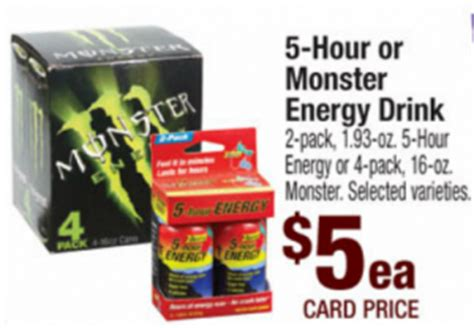 4 hr energy drink walmart price match deal 5 hour energy today only