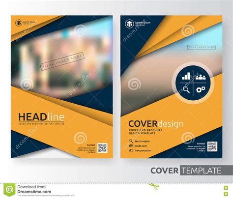 corporate jacket layout abstract illustration abstract art suitable for