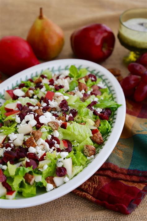 perfect autumn chopped salad la bella vita cucina