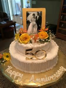 50th wedding anniversary decorations to make 25 best ideas about 50th anniversary cakes on