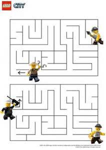 14 dessins de coloriage policier lego 224 imprimer