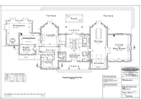 Floor Plans Mansions Luxury Georgian Home Plans Home Design And Style
