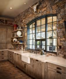 custom home decor ranch rustic kitchen houston by thompson custom homes