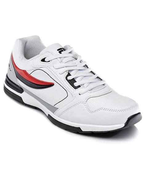 fila sport shoes fila white sport shoes price in india buy fila white