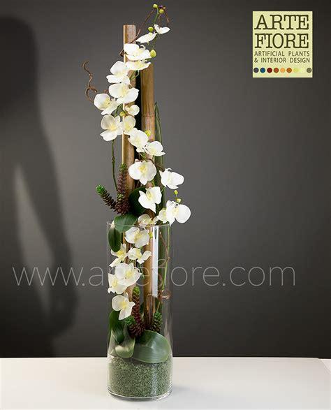composizione fiori finti come fare composizioni fiori finti orchidee yt82 187 regardsdefemmes