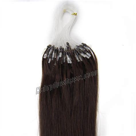 16 inch 2 brown micro 16 inch 2 brown micro loop human hair extensions 100s