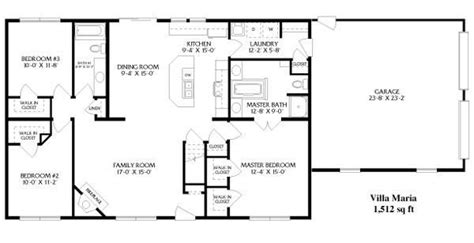 simple open floor house plans best of basic ranch style house plans new home plans design