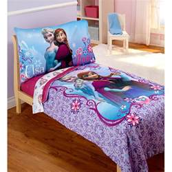frozen bed set disney frozen elsa 4pc toddler bedding set