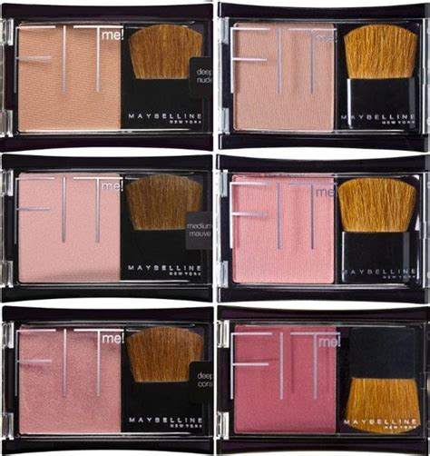 Maybelline Fit Me Bedak maybelline fit me blush collection i blush with