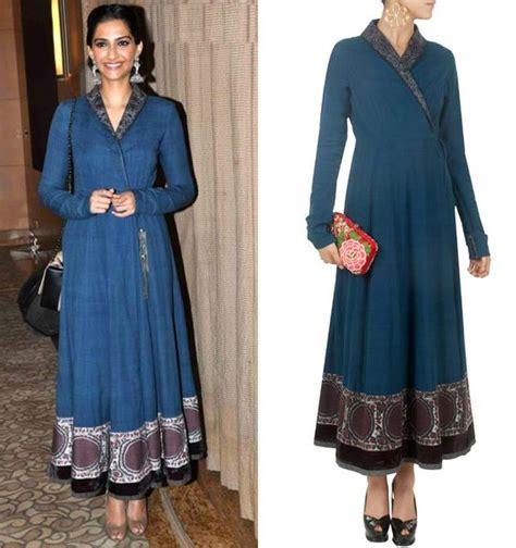 Dress Modis Nikky Style sonam kapoor indigo and the dress on