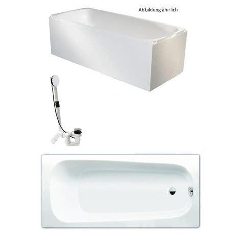 Badewanne Mit Träger kaldewei badewanne mit tr 228 ger und viega ablauf 170x75cm wei 223