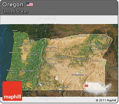 3d map of oregon free satellite 3d map of oregon darken