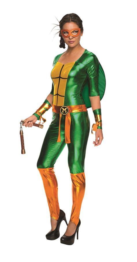 sexy ninja turtle halloween costume michelangelo women sexy bodysuit teenage mutant ninja