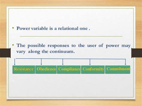 Power Organization 5 organizational behaviour power