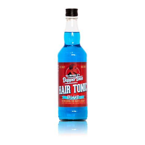 Shoo Dan Hair Tonic dapper dan hair tonic blue blau 500ml mbuko
