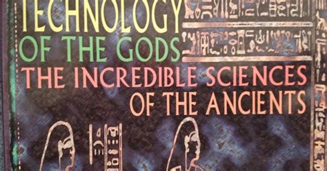 technology of the gods the sciences of the ancients books eugene architect technology of the gods
