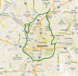 Atlanta On A Map by Map Of Atlanta Related Keywords Amp Suggestions Map Of