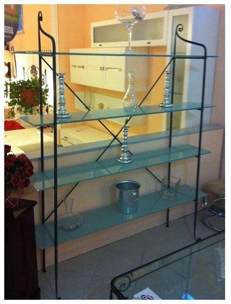 libreria ferro battuto libreria in cristallo e ferro complementi a prezzi scontati