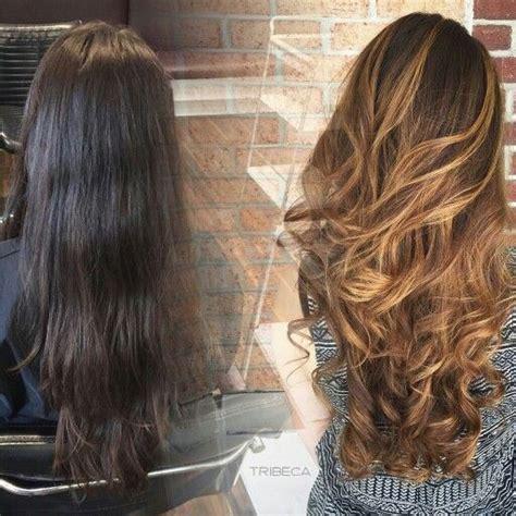summer ombre for brunettes ecaille haircolor brunette tortoise shell color effect by